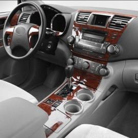 Konsol Maun Kaplama Audi A4 94-01 8 Parça